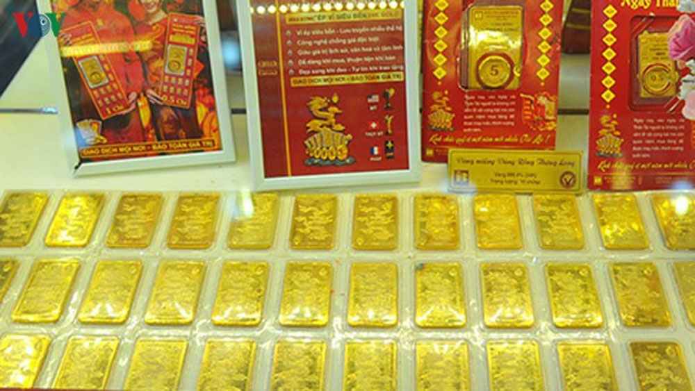 Giá vàng bất ngờ đảo chiều tăng mạnh